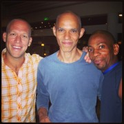 Great times at Eilat Jazz Festival (Israel) with bassists Avishai Cohen & Ira Coleman.<br> Bass times THREE !