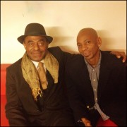 After a great concert with saxophone legend Archie Shepp at Ancienne Belgique (Belgium).