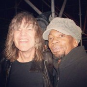 Had to check out my old buddy guitar Mike Stern at Cape Town Jazz Festival (South Africa).