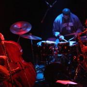 Jazz Trio concert in Liége (Belgium) with Ravi Coltrane (saxophone) & Gene Lake (drums).