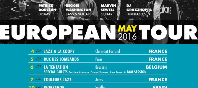 European Tour – May 2016